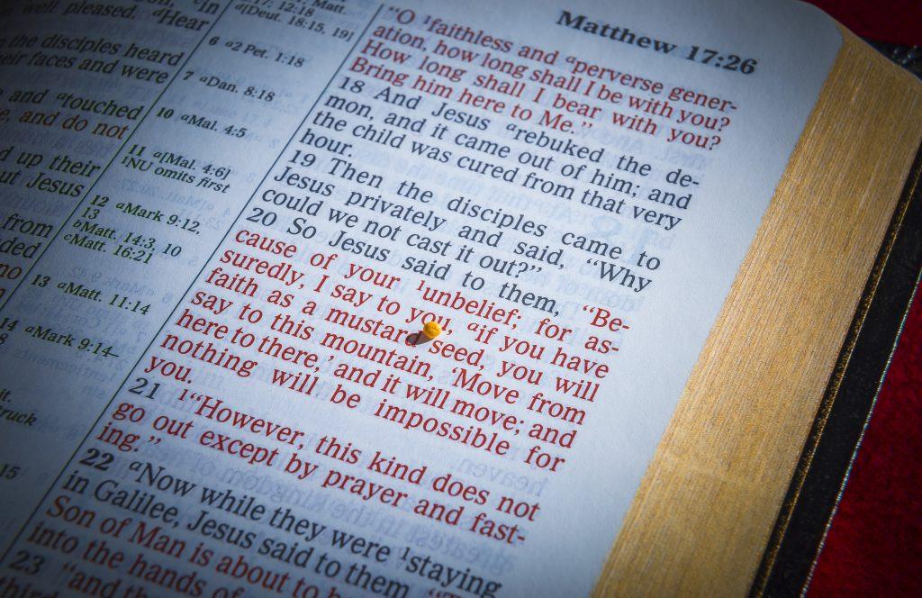 The Power of a Little Faith